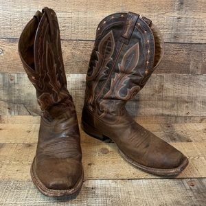 Ariat Hotwire Western Boots Weathered Brown 10.5 D